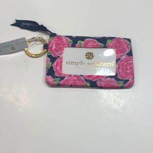 NWT- simply southern key ring ID